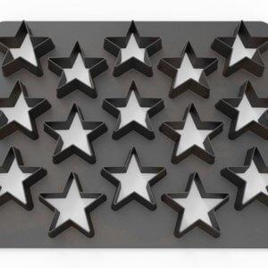 Fondant Cutter Sterne