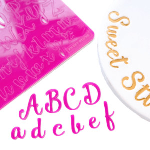 Sweet Stamps Groß-und Kleinbuchstaben
