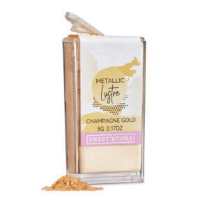 Sweet Sticks edible lustre – Champagne GolSweet Sticks edible lustre – Champagne Gold