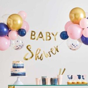 Baby Shower Girlande