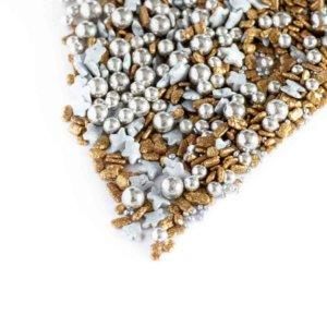 Zuckerstreusel gold silber