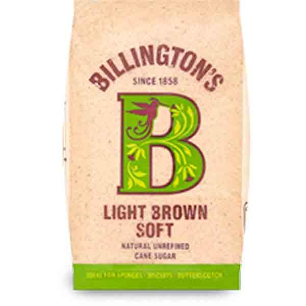 Light Soft Brown Sugar von Billingtons