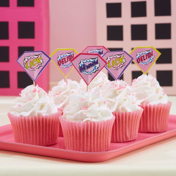 Pop Art Cupcake Picker